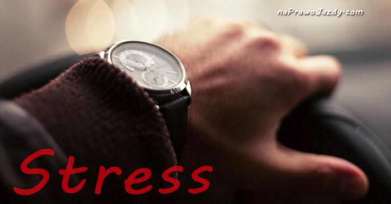 Prawo jazdy stres za kierownicą