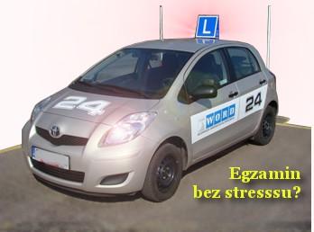 WORD - samochód egzaminacyjny